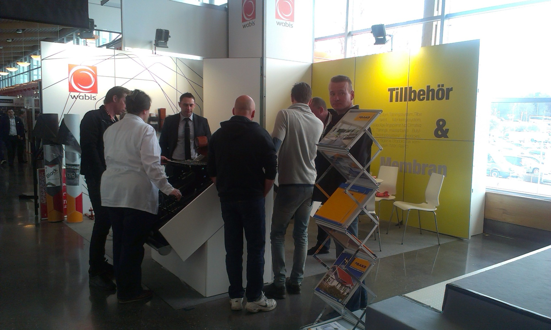 Exhibition Stand Builders Coventry : Wabis exhibitions