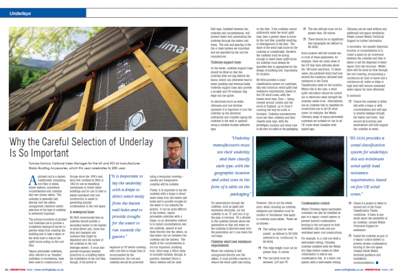 Roofing Today 84 Sept19_underlay article